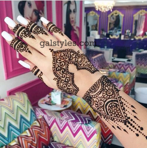 Simple & Best Eid Mehndi Designs for Girls 2016-2017 (30)
