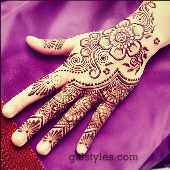 Simple & Best Eid Mehndi Designs for Girls 2016-2017 (36)