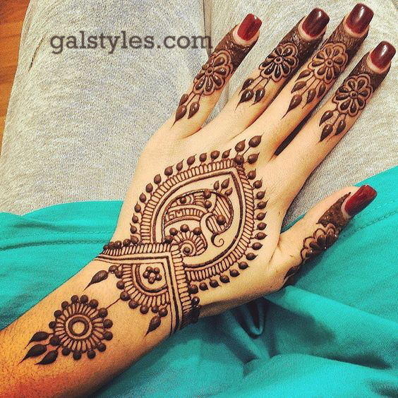 Simple & Best Eid Mehndi Designs for Girls 2016-2017 (39)