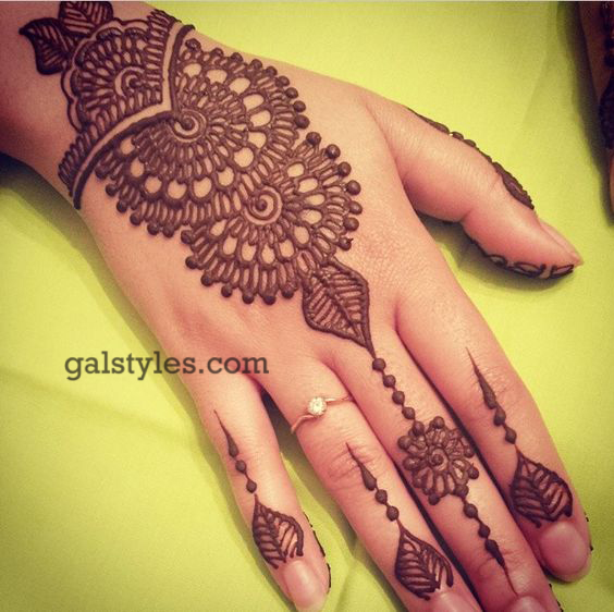 Simple U0026 Best Eid Mehndi Designs 2017-2018 Collection For Girls