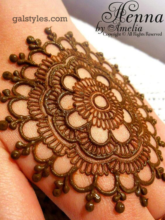 Mehndi Palm Designs 2017 : Simple best eid mehndi designs  collection for