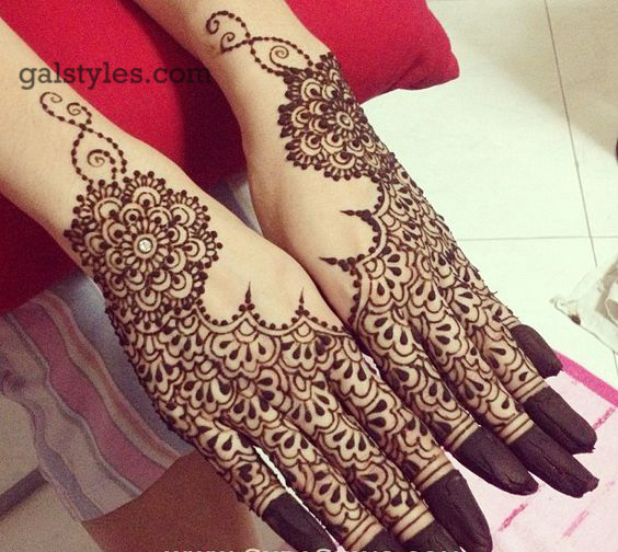 Simple & Best Eid Mehndi Designs for Girls 2016-2017 (49)