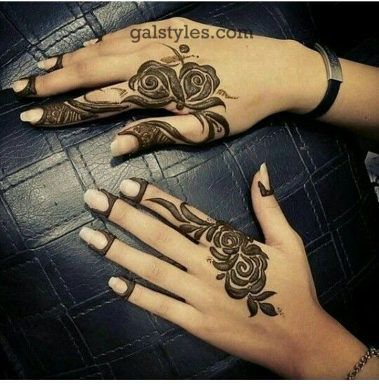 Simple & Best Eid Mehndi Designs for Girls 2016-2017 (50)