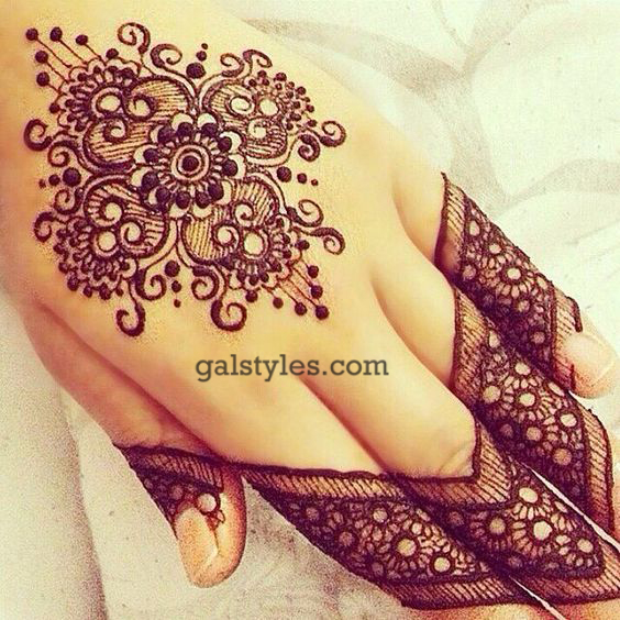 Simple & Best Eid Mehndi Designs for Girls 2016-2017 (52)