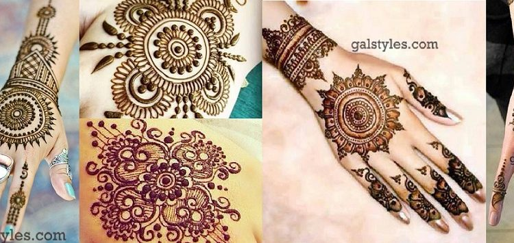Simple & Best Eid Mehndi Designs for Girls 2016-2017