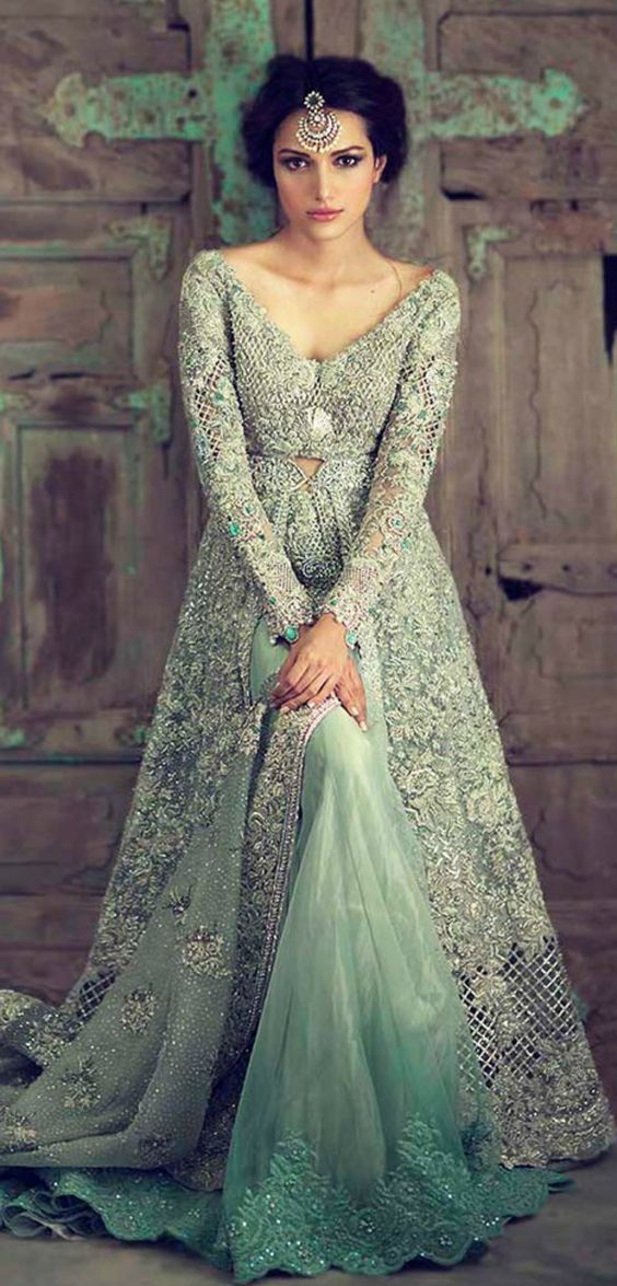 Latest Engagement Bridal Dresses Collection 2019 For