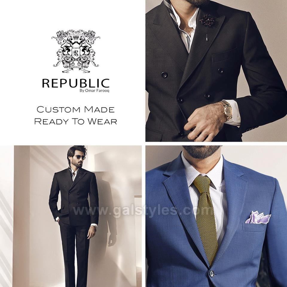 Latest Men Pant Coat Suits Designs 2017-2018 Republic by Omer (12)