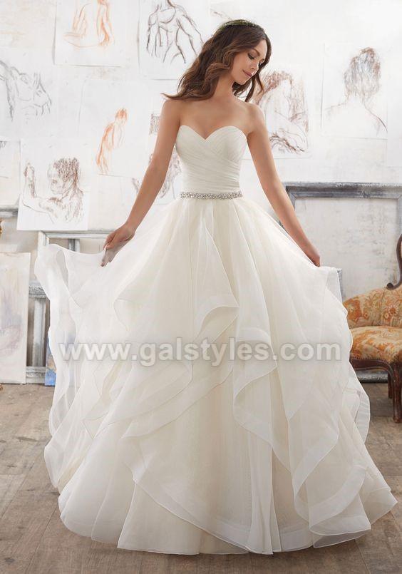 Latest Western Wedding Dresses Bridal Gowns (1)