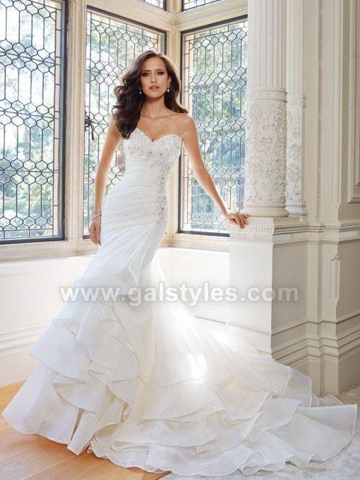 Latest Western Wedding Dresses Bridal Gowns (11)