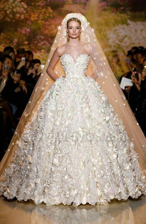 Latest Western Wedding Dresses Bridal Gowns (2)
