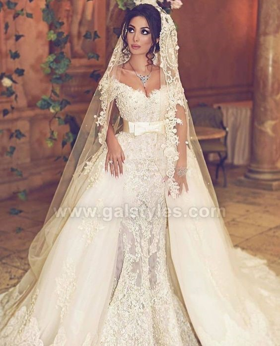 Latest Western Wedding Dresses Bridal Gowns (3)