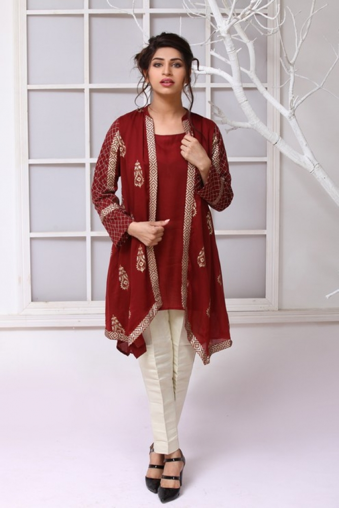 Latest Women Kurta Styles Designs 2019 by Change Kurta Collection