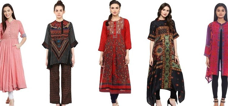 Ritu Kumar Latest Indian Kurtis & Tunics Designs