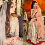 Latest Engagement Bridal Dresses Collection 2017-18 for Wedding Brides