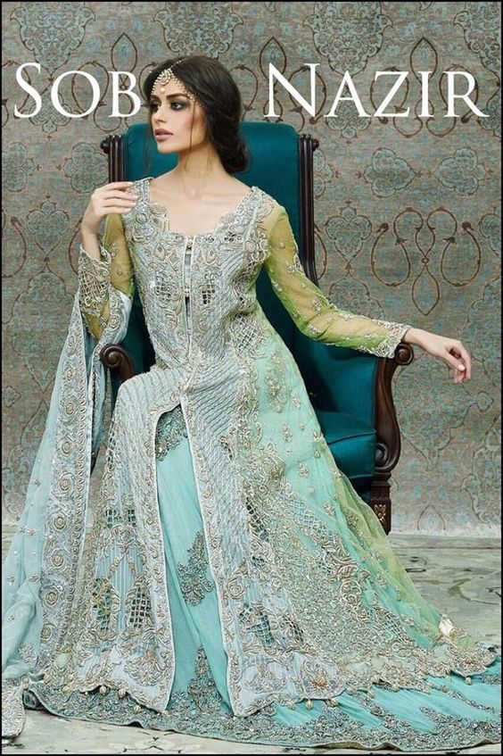 Latest Engagement Bridal Dresses Collection 2018-19 for Wedding Brides