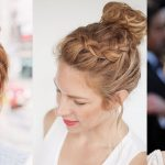 Latest & Most Popular Top Knot Hairstyle Fashion 2017-2018