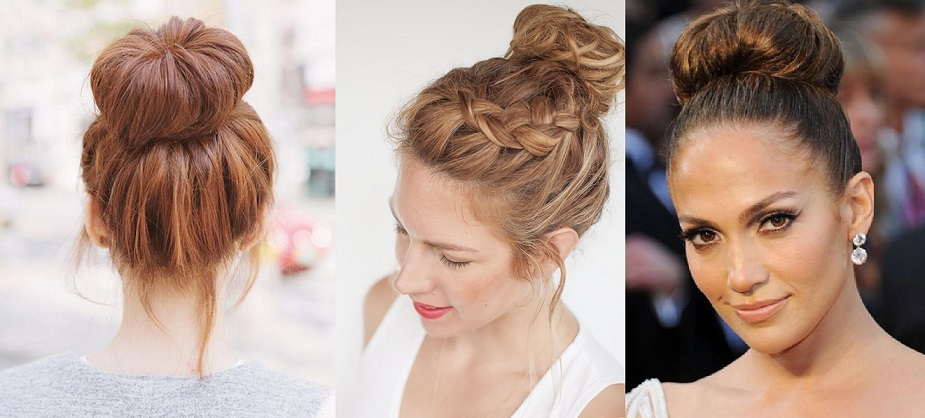 Latest Trends Top Knot Hairstyles Styles For All Hair Types