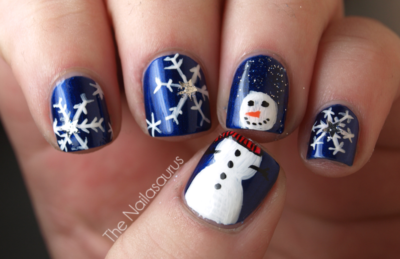 Top 5 Best Diy Christmas Nail Arts For Holiday Season 2019 2020 Trends Galstyles Com