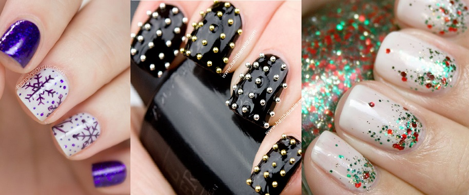 top-5-easiest-amazing-winter-christmas-holidays-nail-art-designs