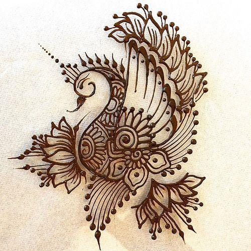 Mehndi Lotus Designs : Henna tattoos latest trends designs  collection