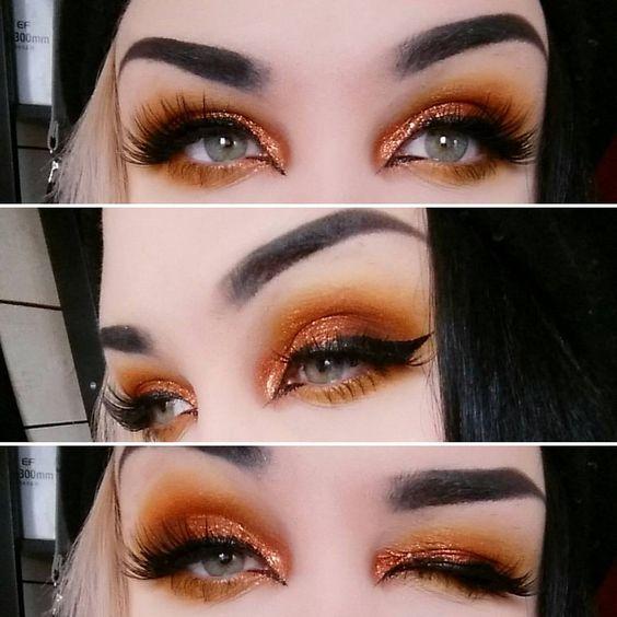 orange-tint-christmas-makeup-ideas-2