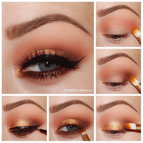 orange-tint-christmas-makeup-ideas-3