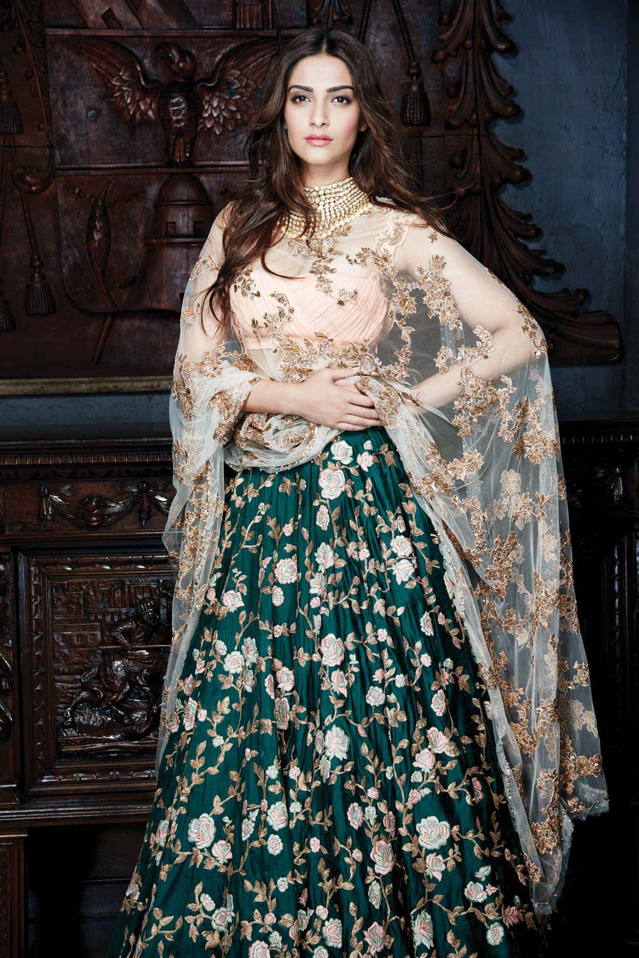 sonam-kapoor-floral-lehenga-indian-celebrity-inspired-looks-1