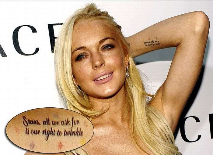 Crazy Celebrity Tattoos - Photos - Washington Times