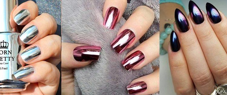 Beautiful Metallic Chrome Nail Art Designs & Tutorial