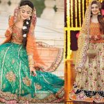 Best & Latest Bridal Mehndi Dresses Designs Collection 2017-2018