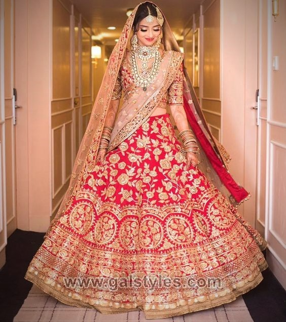 Latest Indian Bridal Dresses Designs Trends 2019 Collection