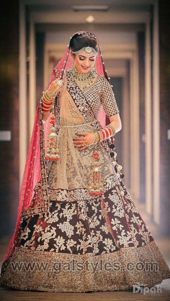 Latest Indian Bridal Dresses Designs Trends 2018-19 Wedding Collection