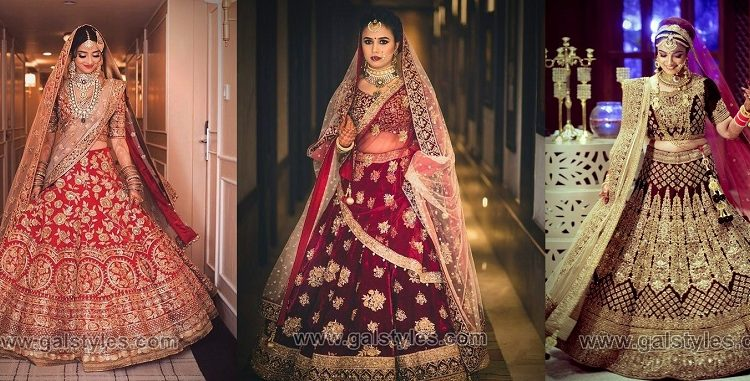 Mehndi Outfits 2018 : Latest indian bridal dresses designs trends wedding collection