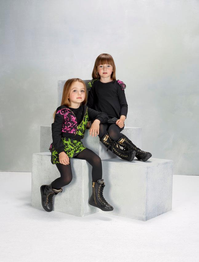 Versace Latest Clothing Men Women Trends for Kids Dresses (5)