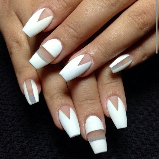 ballerina nail shape- How to Pick Best Nail Shape for Fingers- 9 Amazing Nail Shapes Guide (2)