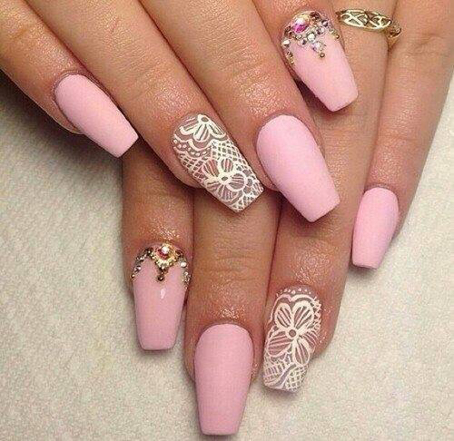 ballerina nail shape- How to Pick Best Nail Shape for Fingers- 9 Amazing Nail Shapes Guide (3)