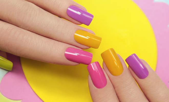 square-nails-shape- How to Pick Best Nail Shape for Fingers- 9 Amazing Nail Shapes Guide (1)