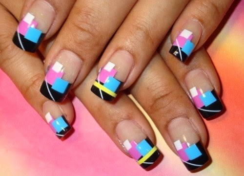 square-nails-shape- How to Pick Best Nail Shape for Fingers- 9 Amazing Nail Shapes Guide (2)