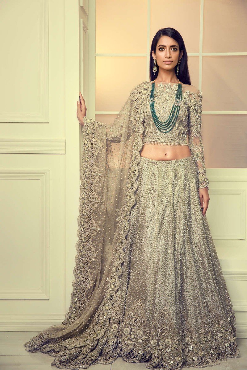 Maria B Bridal Dresses Collection 2018-2019 for Wedding Brides