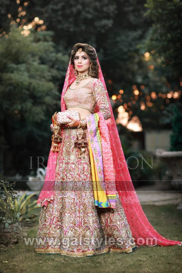 Latest Bridal Mehndi Dress Design Amp Trends Collection 2019