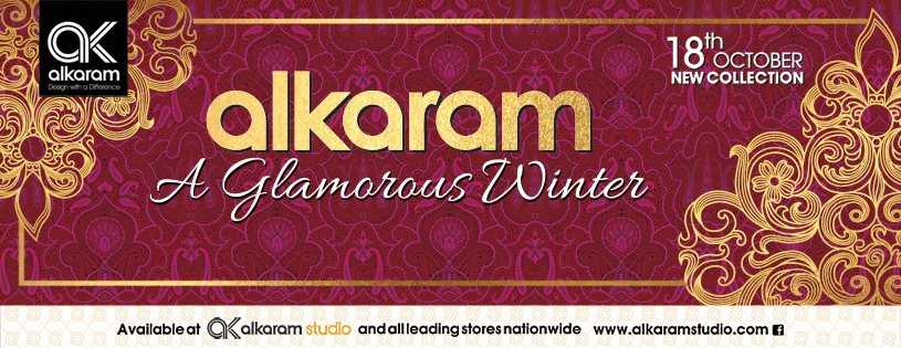Alkaram Studio Glamorous Autumn/ Winter Collection for Women 2019