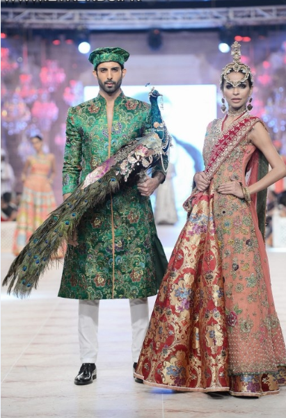 Ali Xeeshan Latest Wedding Bridal Collections at  PFDC L'Oréal Paris Bridal Fashion Week-2014-2015 (2)