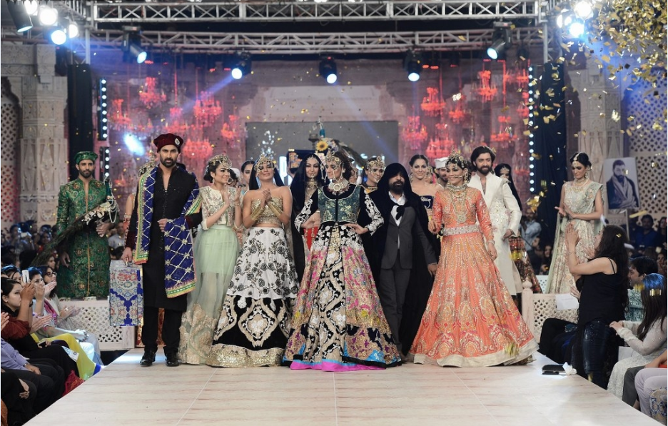 Ali Xeeshan Latest Wedding Bridal Collections at  PFDC L'Oréal Paris Bridal Fashion Week-2014-2015 (4)