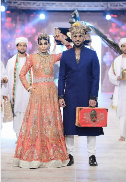 Ali Xeeshan Latest Wedding Bridal Collections at  PFDC L'Oréal Paris Bridal Fashion Week-2014-2015 (5)