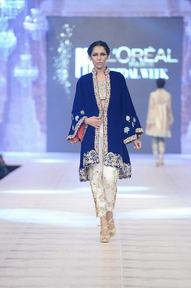 Ammara Khan Latest wedding Collections@  PFDC L'Oréal Paris Bridal Fashion Week 2014-2015 Latest Collections of Popular Pakistani Designers (4)