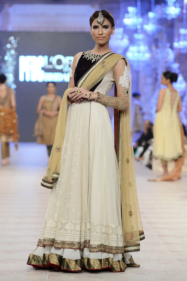 Asifa Nabeel Latest Bridal Collections at  PFDC L'Oréal Paris Bridal Fashion Week-2014-2015 (2)