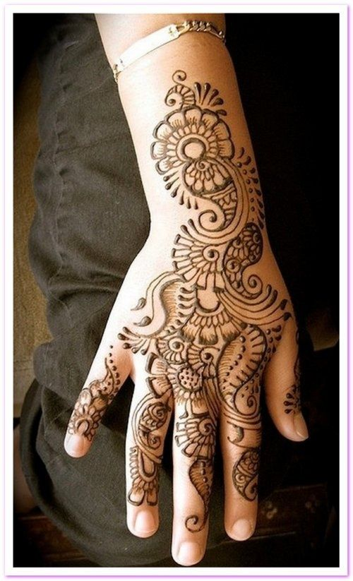 Best & Easy Indian Mehndi Designs Latest Collection for Hands & Feet 2015 (13) - Copy
