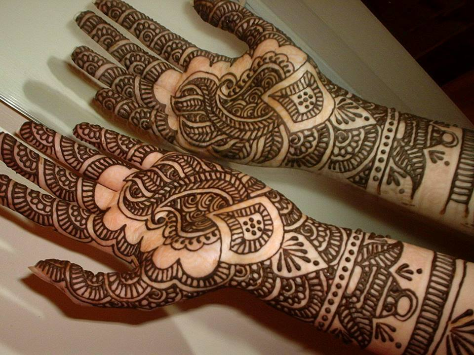Best & Special Mehndi Designs Collection for Eid & Festivals 2014-2015 (15)