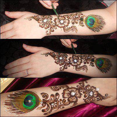 Best & Special Mehndi Designs Collection for Eid & Festivals 2014-2015 (18)