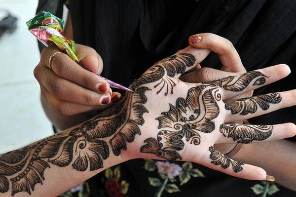 Best & Special Mehndi Designs Collection for Eid & Festivals 2014-2015 (19)